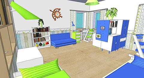bytový designér